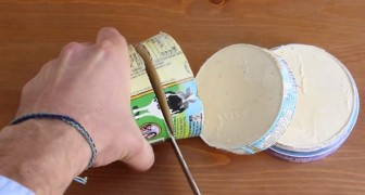 To slice a box of ice cream may seem absurd, but the result is DELICIOUS!