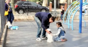 A stranger with a puppy approaches some children: the outcome of this social experiment is scary !