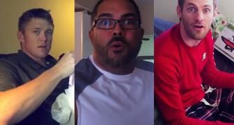 Hun partner is zwanger: de reactie van deze mannen is hartverwarmend!