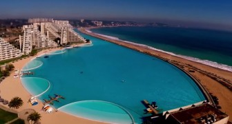 Built in five years and more than 1 km long: here's the largest pool in the world!
