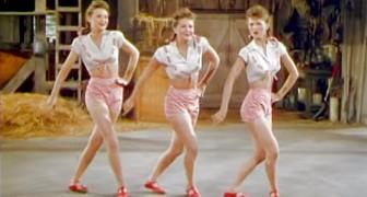 On dirait 3 danseuses normales mais elles sont célèbres pour une habilité PAS COMMUNE!