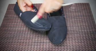 Inizia strofinando una candela sulle scarpe: scoprite questo trucco a prova di temporale