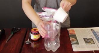 Con una bottiglia di plastica e 3 soli ingredienti potrete dire ADDIO alle zanzare. In 5 minuti!