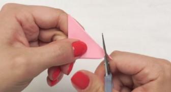 En transformant un simple post-it coloré, elle crée un objet super sympa