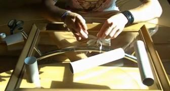Una vecchia CORNICE e dei rotoli di CARTONE: ecco come creare un bellissimo oggetto per la casa
