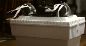 Met een paar euro's en een uniek ontwerp maak je deze verrassende doe-het-zelf airconditioner! Probeer het zelf!