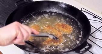 Grazie a un ingrediente segreto, ecco la ricetta per il pollo fritto più croccante che si possa cucinare