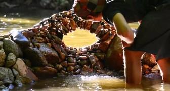 L'art de mettre les pierres en équilibre: les sculptures «impossibles» de Michael Grab