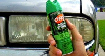 Un spray insecticide sur les phares de la voiture: découvrez cette idée au résultat inattendu!