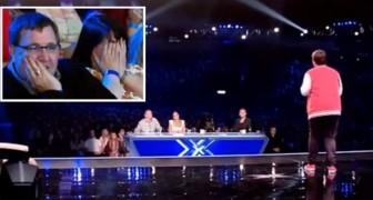 Il a surpris ses parents en participant à un télé-crochet, mais son audition les a laissé bouche bée!