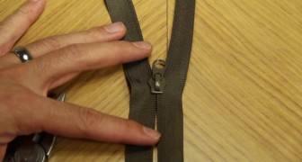 A broken zipper can be very annoying, but here's a quick way to fix it !