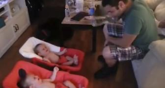 O que fazem estes gêmeos com seu pai vai mudar o seu dia!