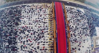If you hate the traffic in your town, you haven't seen what happens in China