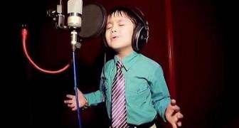 Han är bara 4 år - Men han sjunger Whitney Houston som en gud!