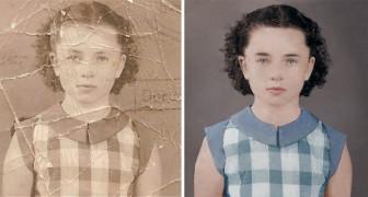 Een Photoshop tovenaar blaast nieuw leven in oude foto's die bijna zijn vergaan...