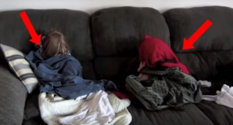 De reden waarom deze kinderen zich (niet al te best) verstoppen, zullen je aan het lachen maken!
