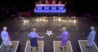 Ils sont surpris de ces 4 femmes, mais personne ne s'attendait à un show pareil!