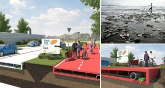 In Olanda si costruisce la prima strada interamente prodotta con plastica riciclata