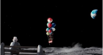 A man lives alone on the moon: here's the video that's moving the world