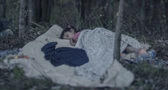 Un photographe nous raconte comment et où dorment les enfants syriens qui fuient la guerre