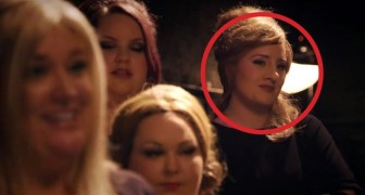 Adele dressed up and went to the audition: when it's her turn ... WHOA!