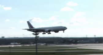 This short video shows you a plane landing ... like you've never seen before!