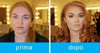 26 ragazze si fotografano prima e dopo il trucco: ecco l'incredibile potere del make up