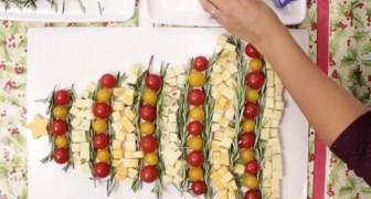 Posiciona atentamente a comida e transforma um prato simples em uma delícia de ver!