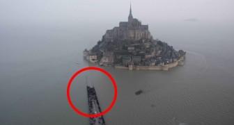 Die Jahrhundertflut: Das Wasser steigt auf 14 Meter rund um Mont Saint-Michel