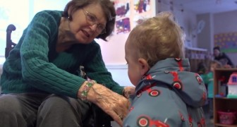 They opened a preschool inside a nursing home: here's the result of this experiment ...