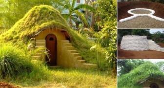 Hier zie je hoe je een hobbit huis kunt maken in je eigen tuin... met slechts 270 euro!