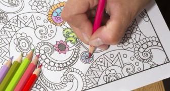 8 choses étonnantes qui se produisent quand un adulte s'adonne au coloriage