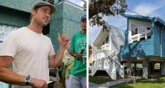 Brad Pitt ha costruito personalmente oltre 100 CASE per gli sfollati dell'uragano Katrina