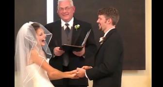 Stanno per sposarsi ma lui sbaglia una parola: l'effetto è travolgente