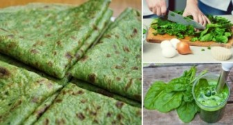 Je hebt slechts 3 ingrediënten nodig voor deze spinaziepannenkoekjes... ZONDER bloem