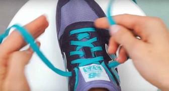 Sa manière de mettre ses lacets pourrait changer vos habitudes!