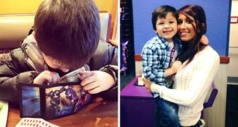 Una mamma racconta come educa suo figlio per farlo diventare un gentiluomo