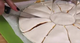 Taglia la pasta in tanti spicchi: il risultato finale è... STELLARE!