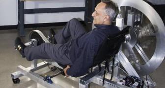 Un uomo inventa la bici che in un'ora può produrre energia elettrica per 24 ore
