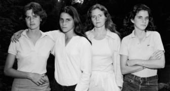 L'affascinante trasformazione di 4 sorelle fotografate ogni anno per 40 anni