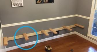 Voleva rinnovare la sala da pranzo guadagnando spazio: il modo in cui lo fa è ingegnoso