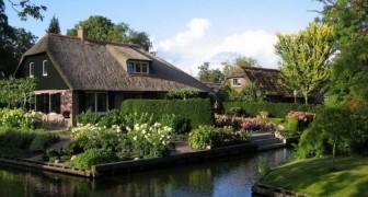 C'est un village de 2600 habitants qui n'a même pas une route: voici l'histoire de Giethoorn