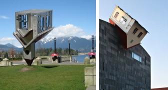 Vreemde gebouwen van over de hele wereld: 16 voorbeelden van extreme bouwwerken