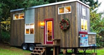 Compra un vecchio caravan e lo trasforma in una casa perfetta per trascorrere la vecchiaia