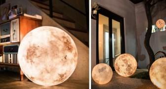 Accendi questa lampada e la Luna arriverà nella tua stanza... Meravigliosa!