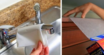 Wax paper is not only for use in the kitchen and food storage --- Here are some very clever and handy tips!