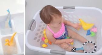 Il momento del bagnetto vi spaventa? Ecco 9 semplici trucchi per non gettare... la spugna