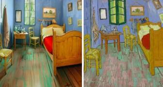Ricreano dal vero la famosa stanza dipinta da Van Gogh: la somiglianza è impressionante