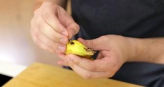 Il troue une banane avec une aiguille: surprenez tout le monde avec cette astuce surprenante