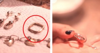 Give new life to tarnished silver jewelry using ingredients you can find in the kitchen! Here's how.....